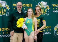 2017 Senior Night WV Girls Waterpolo - 05/04/2017